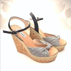 Steve Madden | Dorothe Platform Cork Wedge Sandals